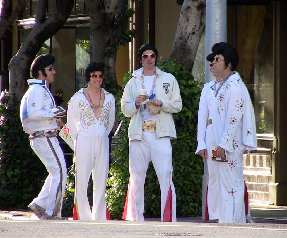 Elvis at Bay to Breakers