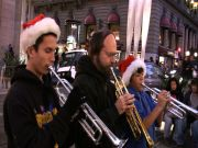 Playing on Powell in San Francisco