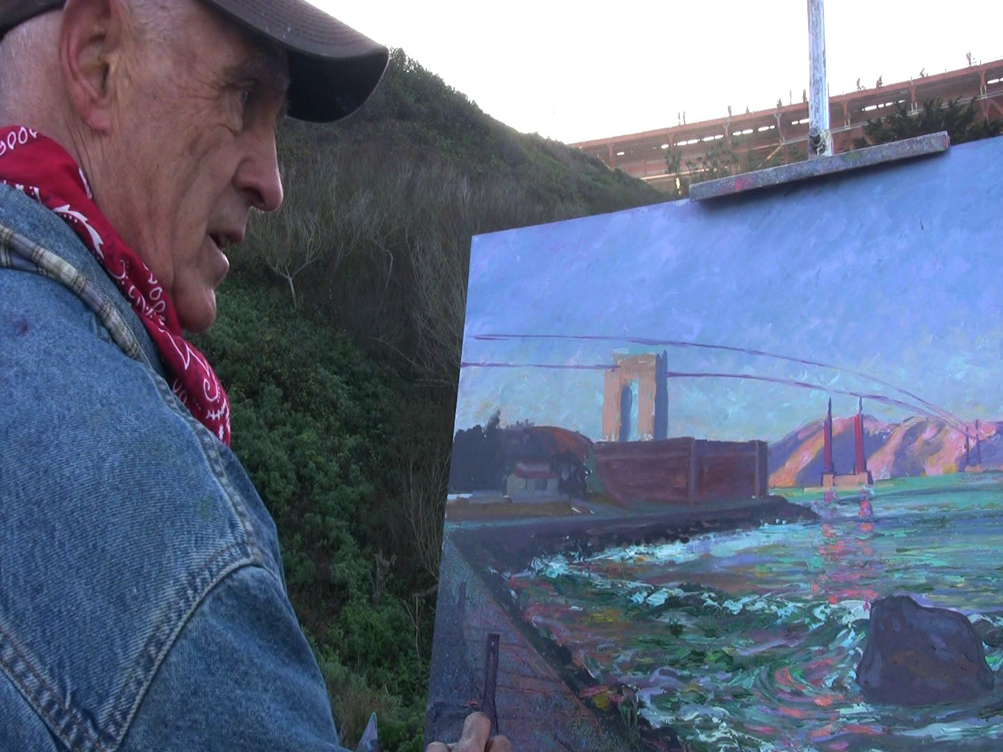 Anthony Holdsworth - Golden Gate Bridge Artist