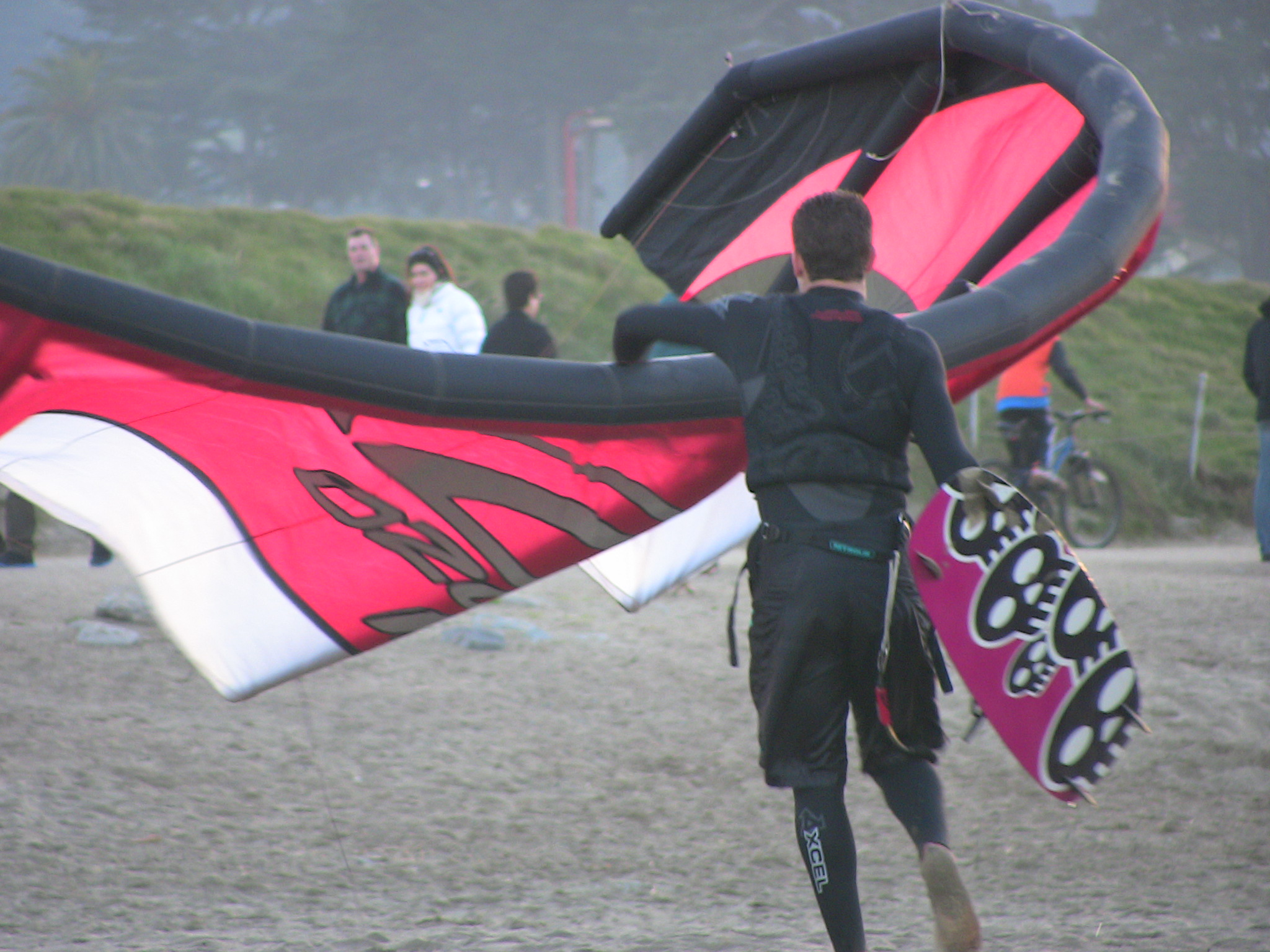 Windsurfer at Crissy Field