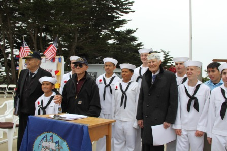 USS San Francisco Memorial Day Ceremony